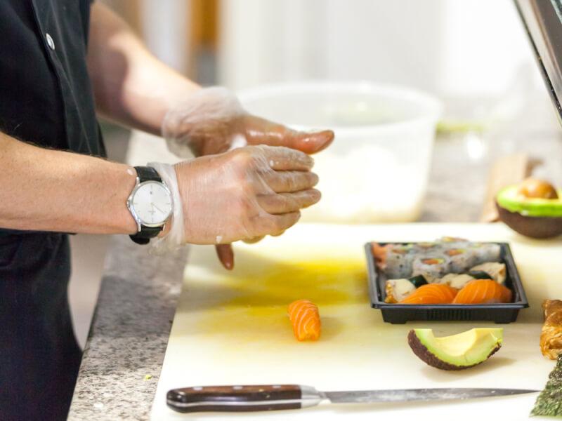 restaurant perle sushi caluire - Le service traiteur Perle Sushi